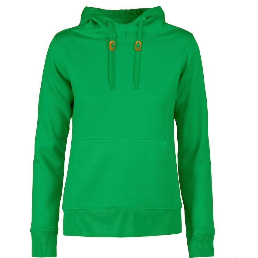 Hoody Dames green