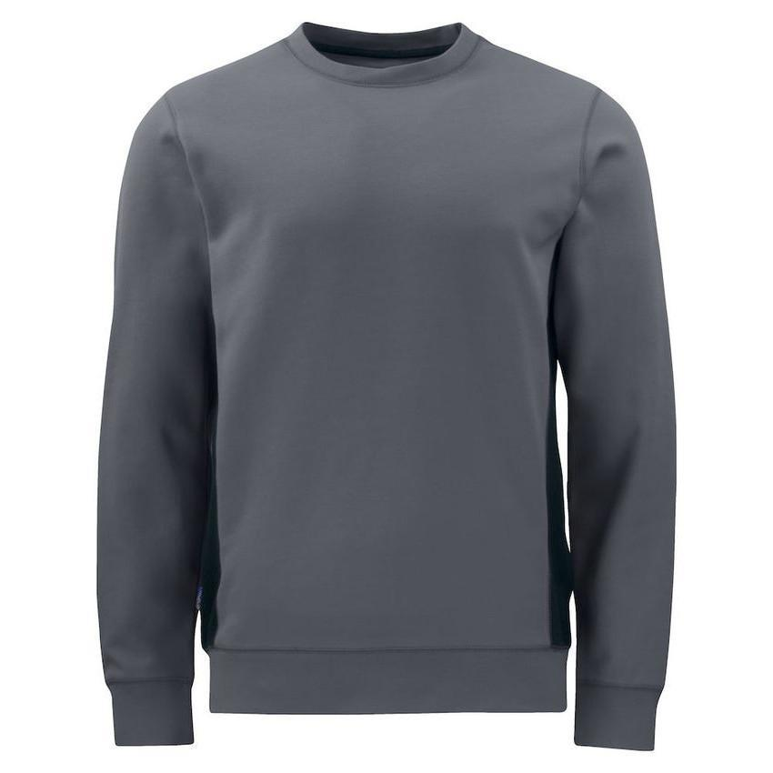 Sweatshirt Heren werk grey