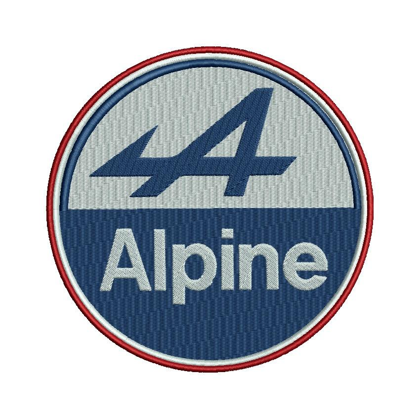 badge Alpine