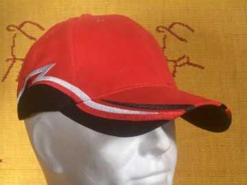 cap striping rood